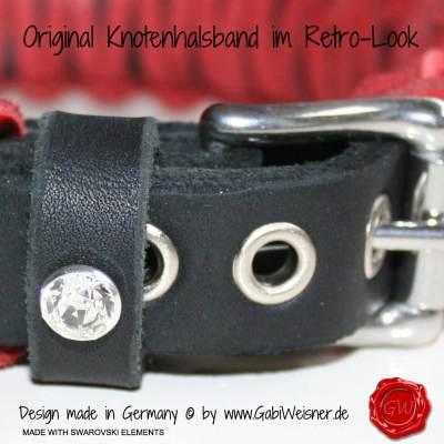 Lederhalsband-Hundehalsband-rot-Swarovski-3