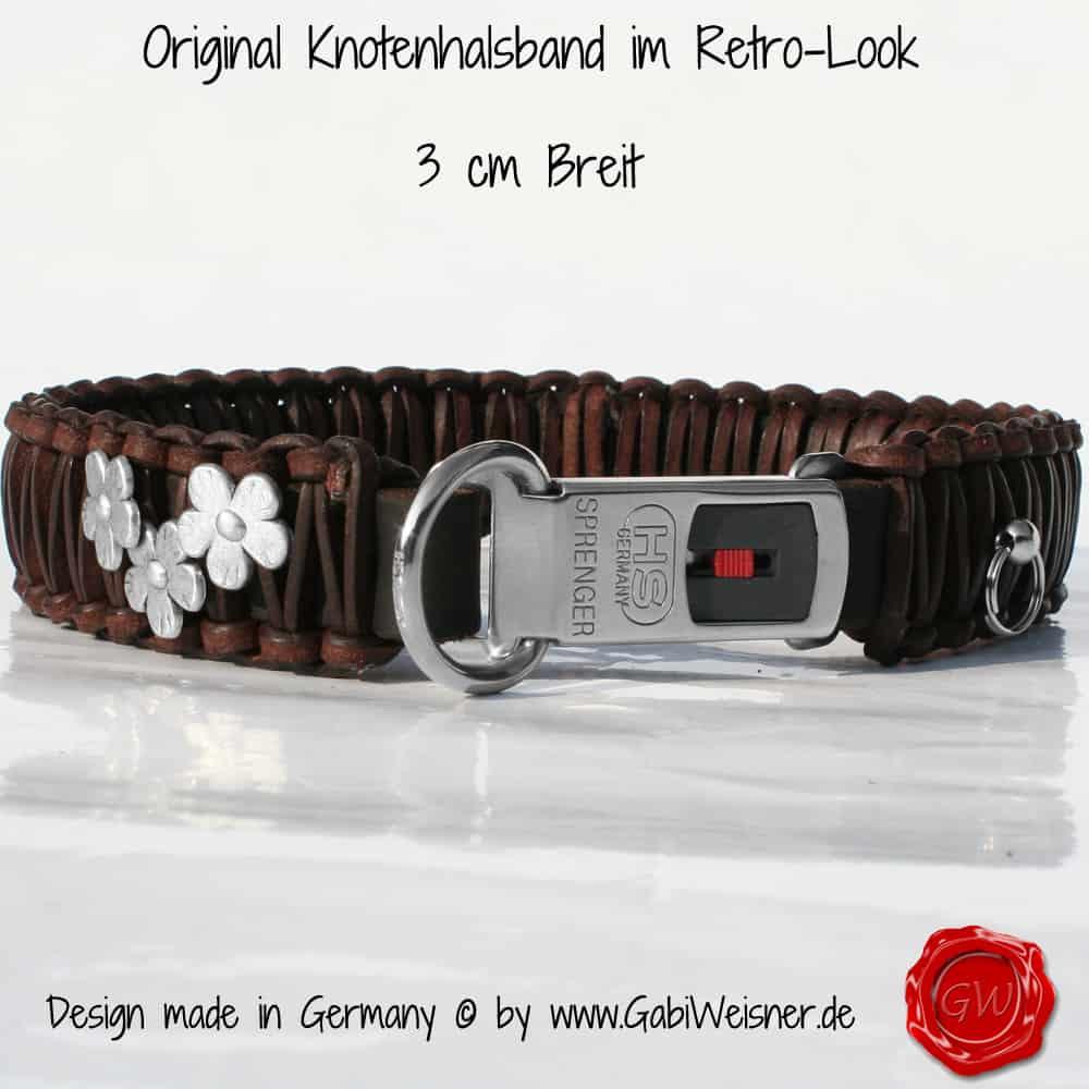 Lederhalsband-mit-Blümchen-3-cm-Breit-mit-SPRENGER-KLICK-4