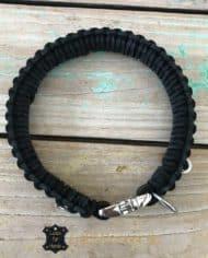 Lederhalsband-3-cm-breit-geflochten-SCHWARZ-schwarz