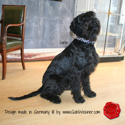 Dog Collar Don Carlos MADE WITH SWAROVSKI ELEMENTS
