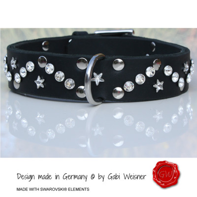 Dog Collar MADE WITH SWAROVSKI ELEMENTS