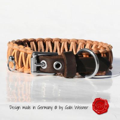 Hundehalsband-Leder-natur-Gabi-Weisner