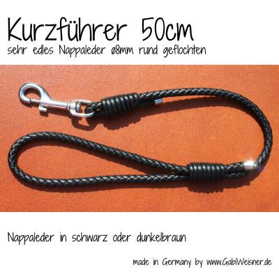 Kurzführer-für-Hunde-Nappaleder-ø8mm-GabiWeisner-8