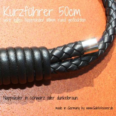 Kurzführer-für-Hunde-Nappaleder-ø8mm-GabiWeisner-2