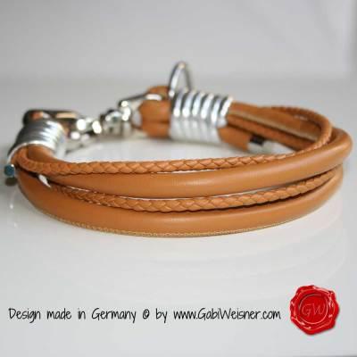 Hundehalsband-Leder-Nappaleder-Mix-Cognac-4