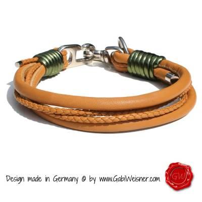 Hundehalsband-Leder-Nappaleder-Mix-Cognac-7
