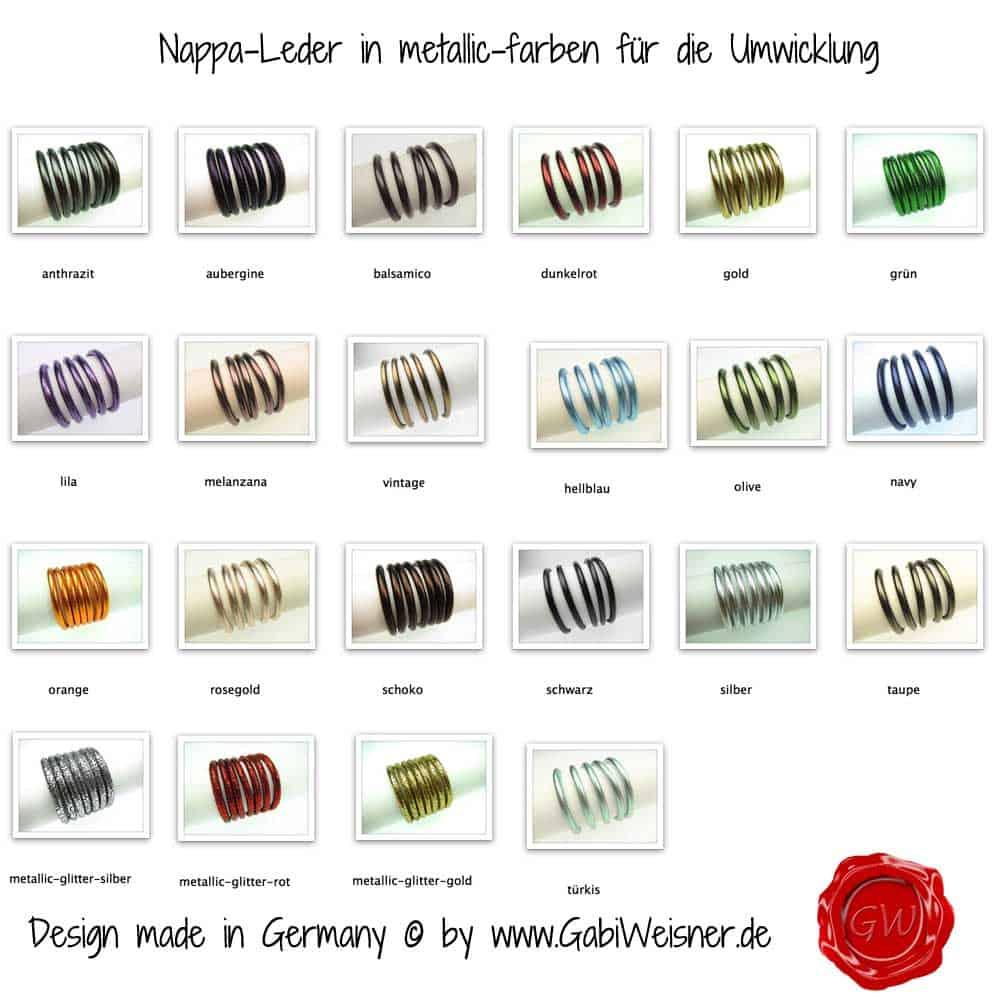Nappaleder-in-metallic-farben-für-die-Umwicklung