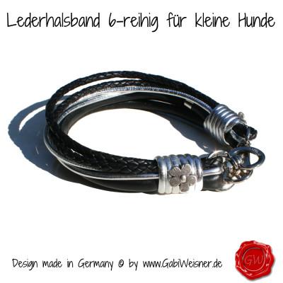 Lederhalsband-6-reihig-für-kleine-Hunde-3