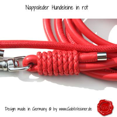 Hundeleine-Nappleder-in-rot-2