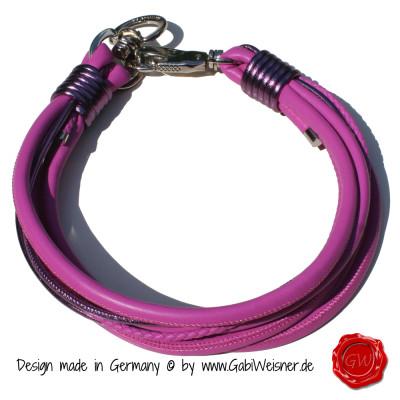 Lederhalsband-8-reihig-pink