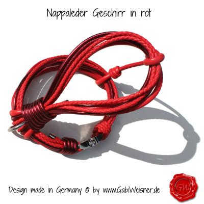 Nappleder-Geschirr-rot-2