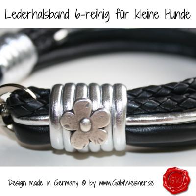 Lederhalsband-6-reihig-für-kleine-Hunde-4