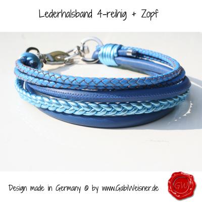 Lederhalsband-4-reihig-+-Zopf