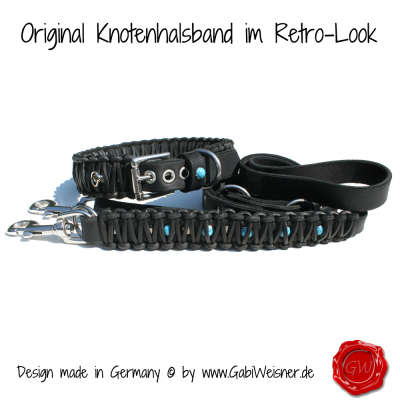 Original-Knotenhalsband-im-Retro-Look