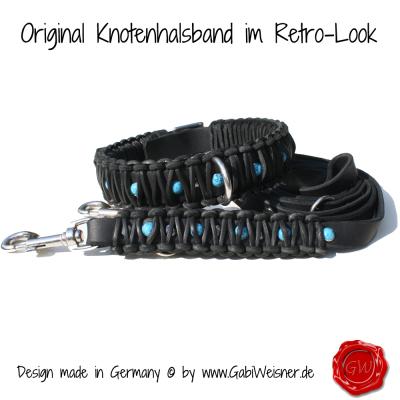 Original-Knotenhalsband-im-Retro-Look-4cm-breit