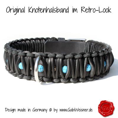 Original-Knotenhalsband-im-Retro-Look-4cm-breit-schwarz-2