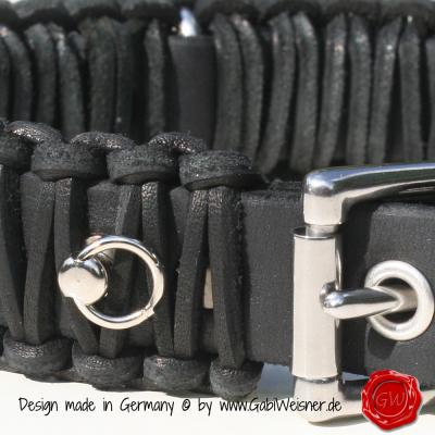 Original-Knotenhalsband-im-Retro-Look-4cm-breit-schwarz-3
