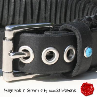 Original-Knotenhalsband-im-Retro-Look-4cm-breit-schwarz-4