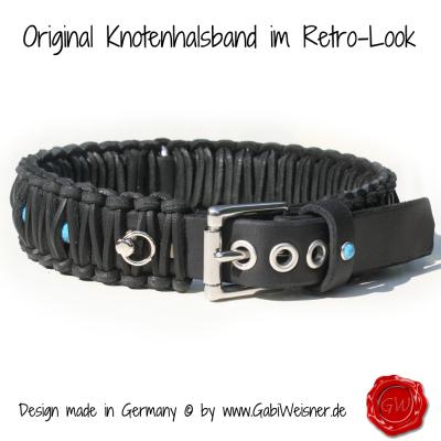Original-Knotenhalsband-im-Retro-Look-4cm-breit-schwarz-5