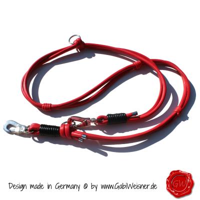 Hundeleine-Nappaleder-Lederleine-Rot-1