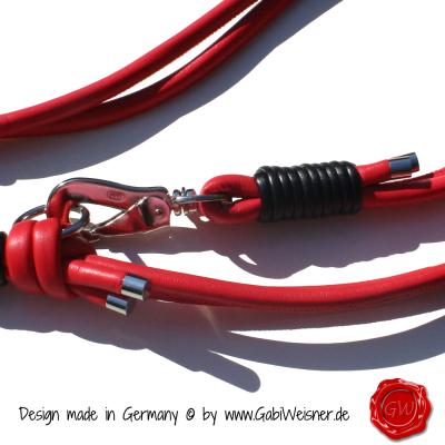 Hundeleine-Nappaleder-Lederleine-Rot-2