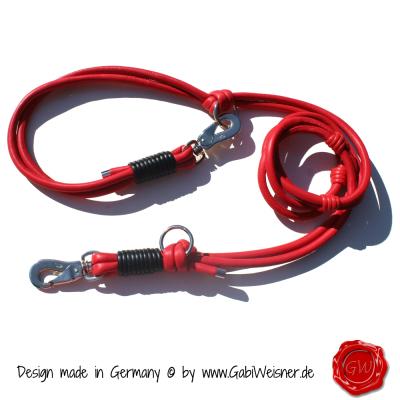 Hundeleine-Nappaleder-Lederleine-Rot-4