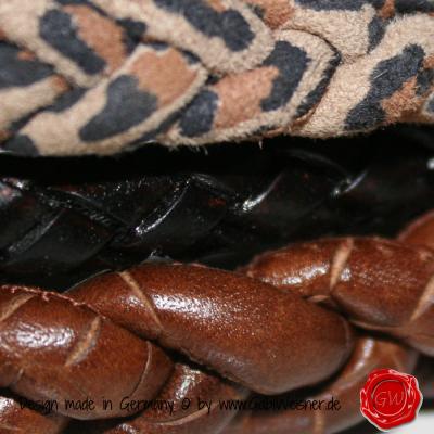 Lederhalsband-3-reihig-Leopard-Kroko-Rind-2