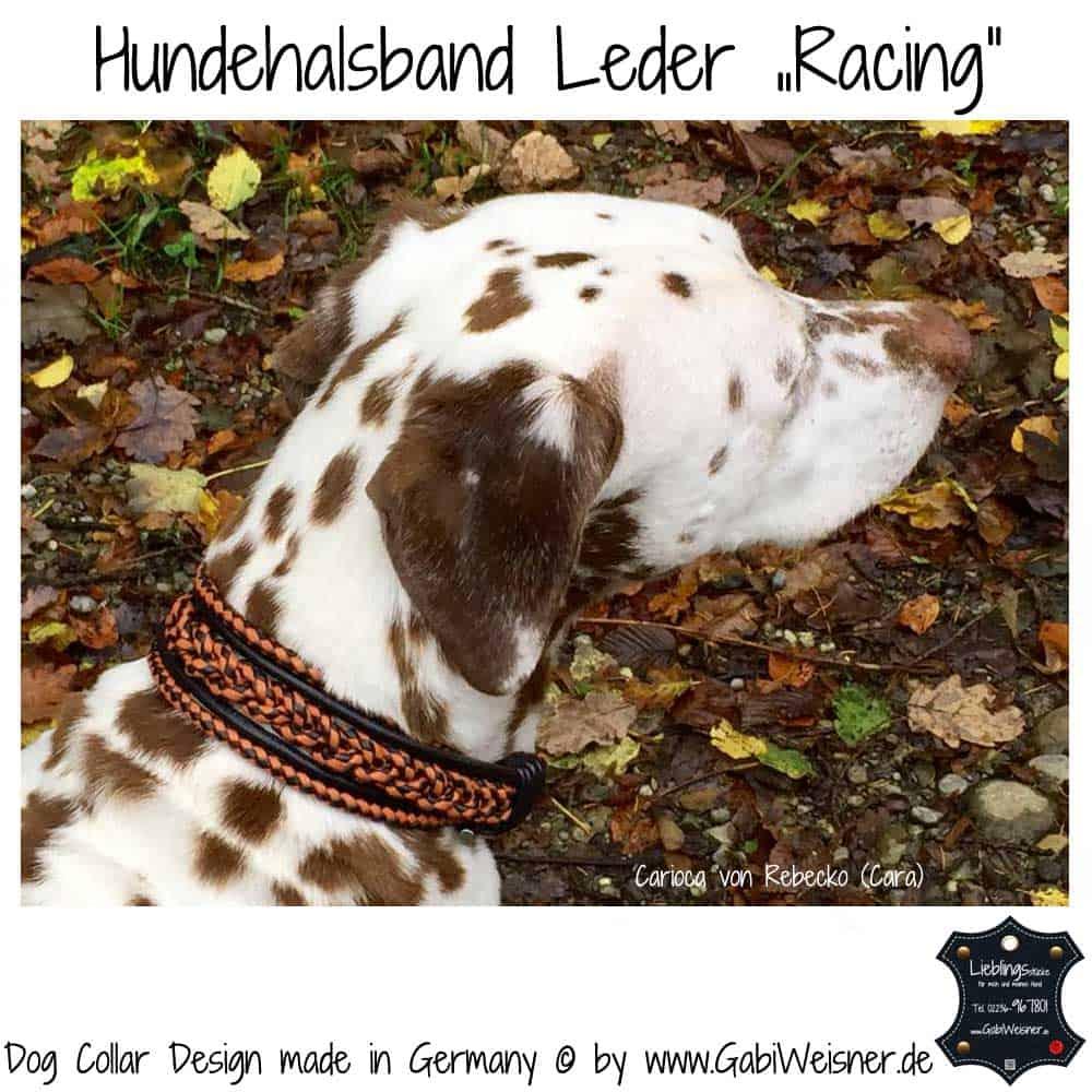 hundehalsband-leder-racing-orange-schwarz-3