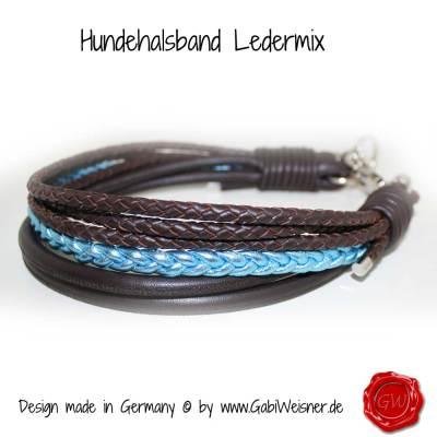 Hundehalsband-Ledermix-1