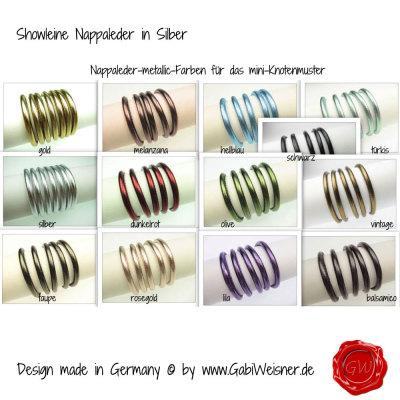 Showleine-Ausstellungsleine-Leder-Strass-Silber-12