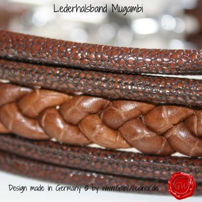 Lederhalsband Mugambi-2