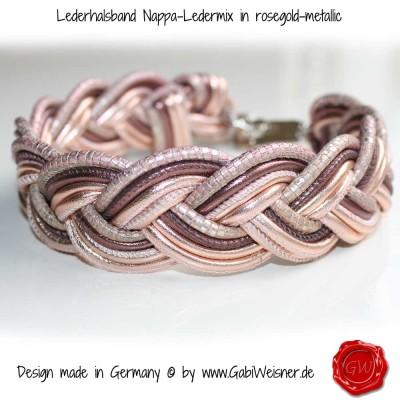 Lederhalsband-Nappa-Ledermix-in-roségold-metallic-1