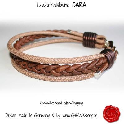 Hundehalsband-Lederhalsband-CARA-1