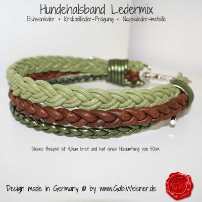 Hundehalsband-Lederhalsband-Ledermix-1