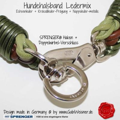 Hundehalsband-Lederhalsband-Ledermix-4