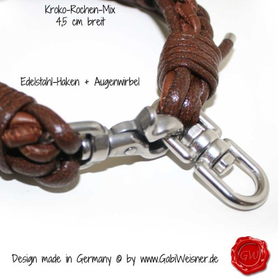 Hundehalsband-Lederhalsband