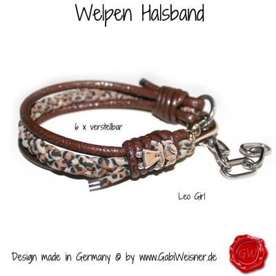 Welpen-Halsband-Leo-Girl-1