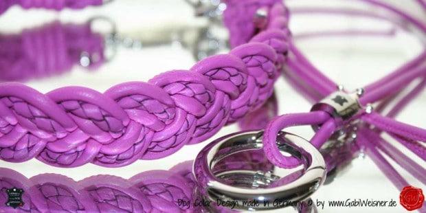 Pfeifenkette in Pink