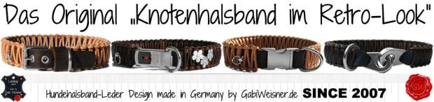Original Knotenhalsband im Retro-Look • Design by Gabi Weisner SINCE 2007