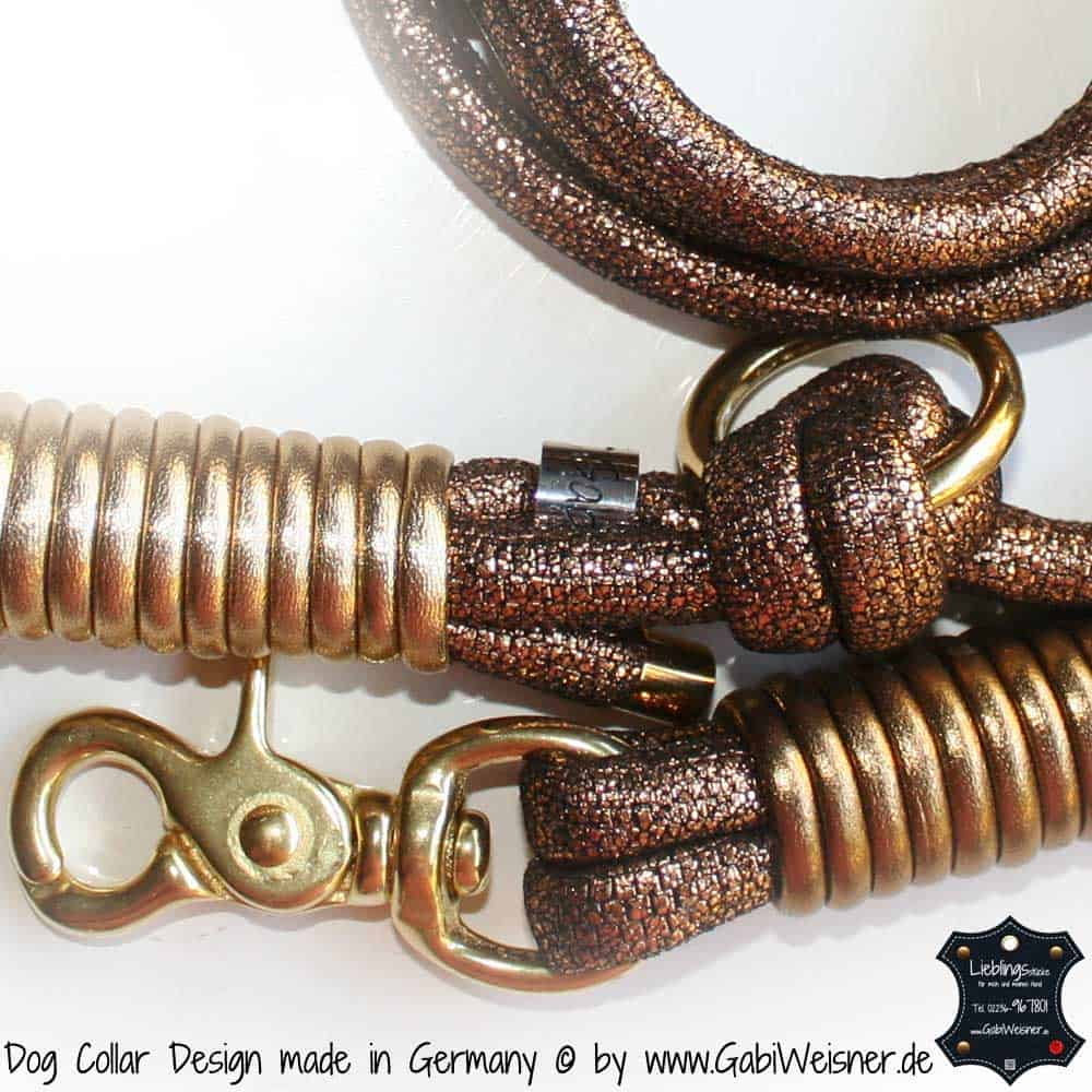 Lederleine Goldstück Vintage Gold-3