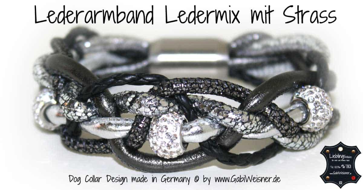 Lederarmband-Ledermix-mit-Strass