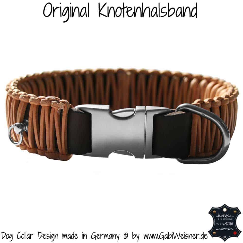 Hundehalsband-Leder-4-cm-Natur