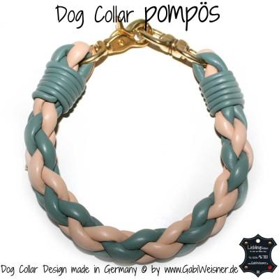 Hundehalsband pompoes