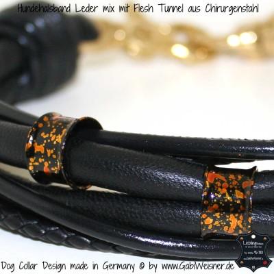 lederhalsband elegant