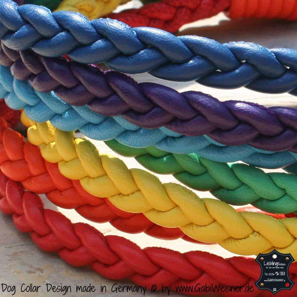 Hundehalsband-Regenbogen-2