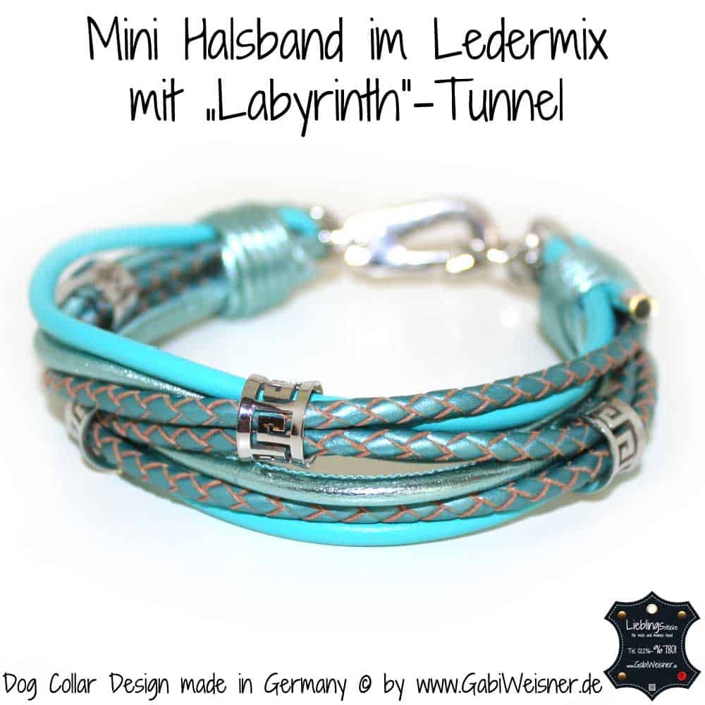 "Mini-Halsband-im-Ledermix-mit-""Labyrinth""-Tunnel-1"