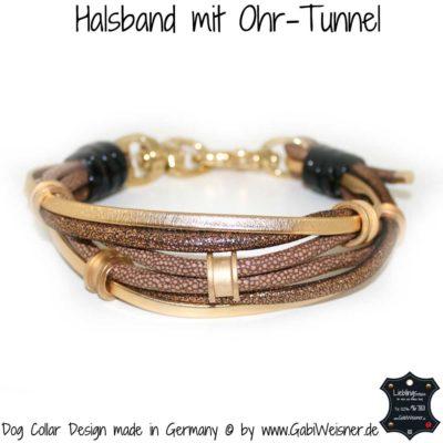Halsband mit Ohr-Tunnel