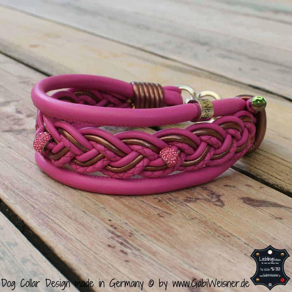 Hundehalsband-5-cm-breit-geflochten