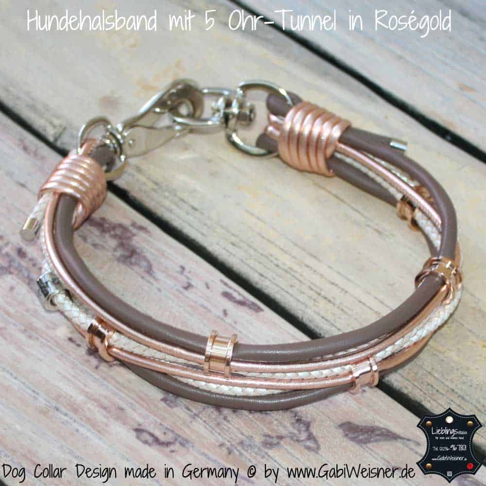 Hundehalsband-mit-5-Ohr-Tunnel-in-Roségold-6