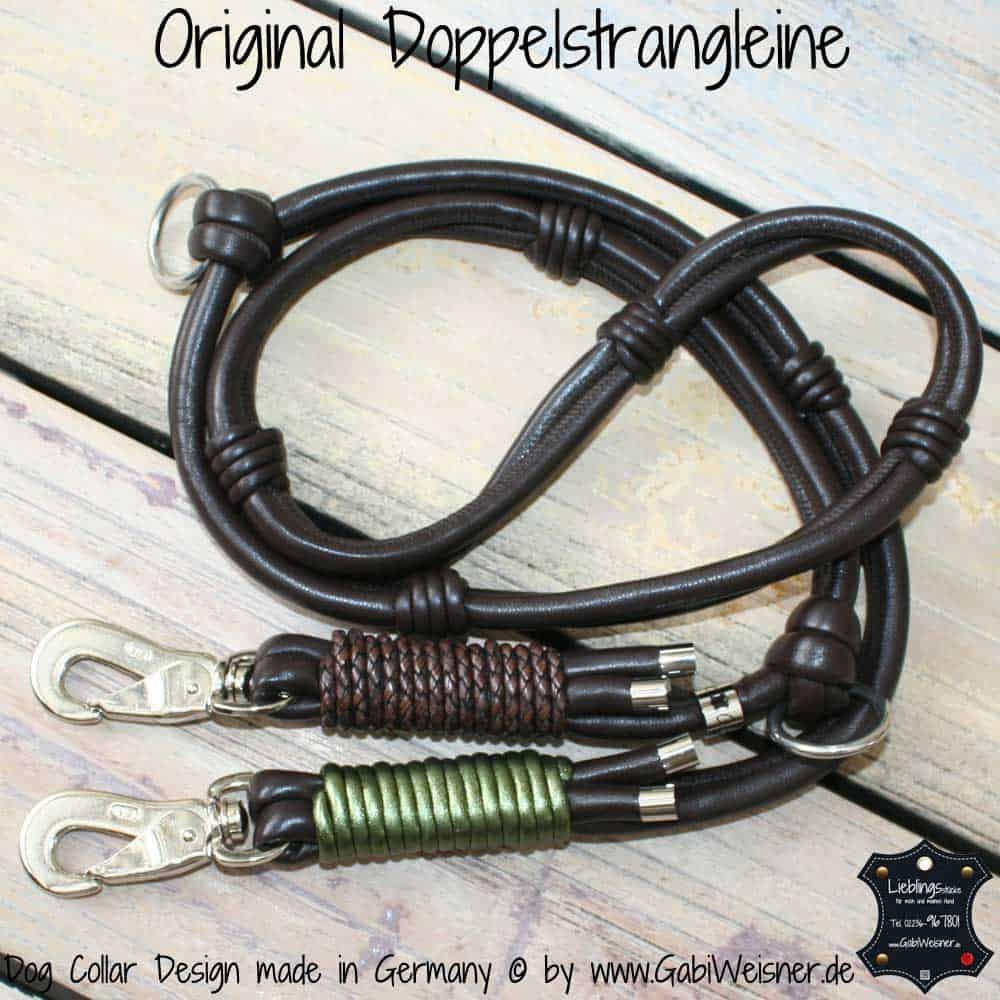 hundeleine leder braun olive 3 hundehalsband leder luxus f r hunde. Black Bedroom Furniture Sets. Home Design Ideas